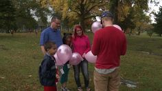 Family gathers at daughter's gravesite, hoping to inspire others