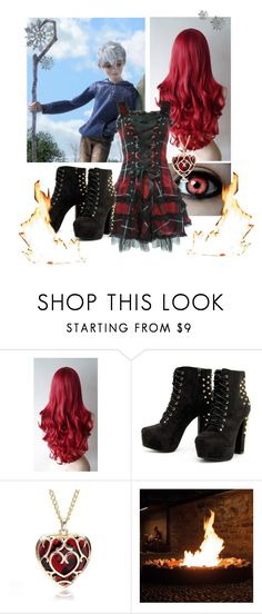 """""""Polar opposites"""" by scarlet-snow2603 on Polyvore featuring Hell Bunny"""