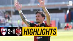 The Football Match Between Cagliari vs AC Milan. After a Very Important Last Minute Goal by Pisacane, The Final Result of The Game is Cagliari AC Milan. Watch Football, Football Match, Italian League, Match Highlights, Ac Milan, Sports News, Goals