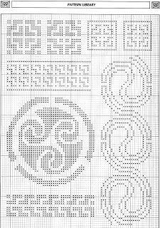 Celtic motifs 7 free cross stitch pattern