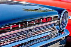 Car Tail Light Images by Jill Reger - Images of Tail Lights - Car Taillight Images - 1963 Ford Galaxie 500xl Taillight Emblem