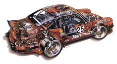 Porsche 935 Illustrated by Alan Holwill
