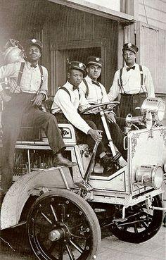 Hose Company No. 4, Los Angeles, CA, 1919