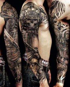 150 Brave Samurai Tattoo Designs And Meanings nice Check more at http://fabulousdesign.net/samurai-tattoo-design/