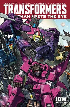 Make a list of every single DECEPTICON. Remove the warriors, the high-rankers, the loyal foot soldiers, the over-achievers, and anyone who's ever made even a modest contribution to The Cause. You shou