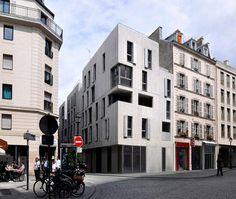 Social housing in Paris, Paris, 2012 - Frédéric Schlachet Architecte