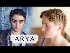 Game of Thrones Hair Tutorial - Arya in Braavos - YouTube