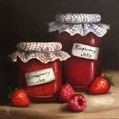 Buy Homemade Jams, Oil painting by Jane Palmer on Artfinder. Discover thousands of other original paintings, prints, sculptures and photography from independent artists.