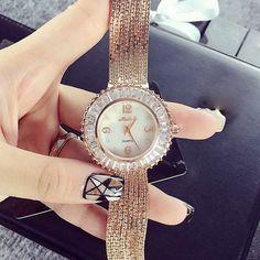Ladies Gold Watches Women Golden Clock Women Dress Watches Top Luxury Brand With Mesh Band relogio feminino dourado reloj mujer