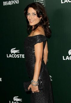 Actress Lisa Edelstein wears M.C.L by Matthew Campbell Laurenza bangles at the 13th Annual Costume Designers Guild Awards held at The Beverly Hilton hotel on February 22, 2011 in Beverly Hills, California