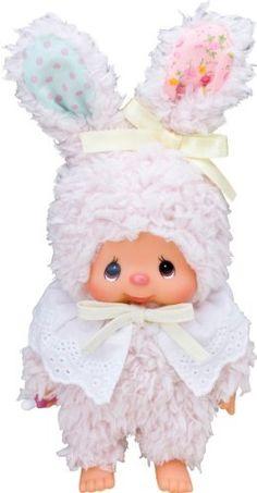 "Sekiguchi Monchhichi Friends 9.5"" Tall Chimtan Bunny Doll by Sekiguchi, http://www.amazon.com/dp/B007PLPBGK/ref=cm_sw_r_pi_dp_u2Ejrb14KGDQ0"