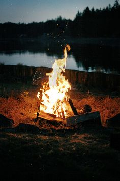 Hang out around a fire and drink whiskey. | 60 Things You Absolutely Have To Do This Summer