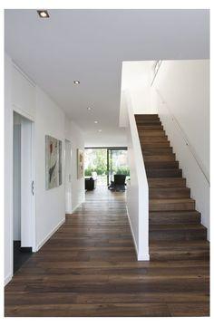 Lioba Schneider ARCHITECTURE Photograpy Co # photography Liob Modern Stairs Architecture Liob Lioba Photography Photograpy Schneider Foyer Design, Staircase Design, Modern Foyer, Modern Stairs, Rustic Stairs, Foyer Decorating, Interior Decorating, Interior Ideas, Interior Design
