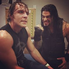 """""""ROMAN REIGNS and DEAN AMBROSE ride together again! #SmackDown"""""""