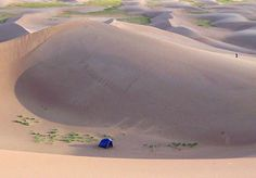 Camping on the sand dunes in Colorado