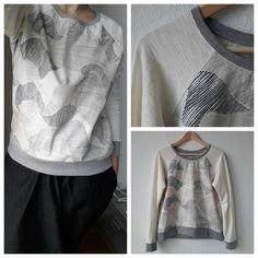Grainline Studio Linden Sweatshirt #lindensweatshirt #grainlinestudio
