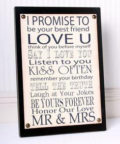 Black 'Mr. & Mrs.'