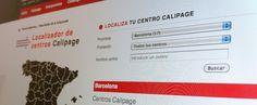 Trabajos de la agencia de publicidad Taos para Calipage