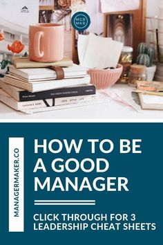 How to Be a Good Manager Leadership Strategies, Leadership Roles, Managing People, Time Management Tools, Work Stress, Best Careers, Career Change, Emotional Intelligence, Working Moms