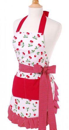 Cute aprons from Flirty Aprons via Sugar Loco