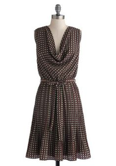 Either Orientation Dress, I like the slouchy neckline - good for a beginner :)