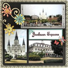Layout: New Orleans: Jackson Square page 1