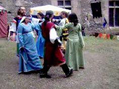 medieval dance (couples) - Greensleeves