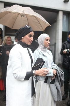 Classy _ Chic _ Minimal _ Basic Color _  Turban _ Hijab Fashion