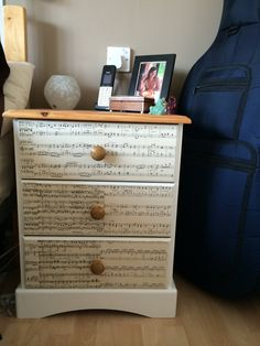 My Upcycled Bits On Pinterest Pine Bedside Tables Duck