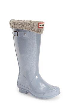 Hunter 'Original Glitter' Rain Boot (Little Kid & Big Kid) available at #Nordstrom