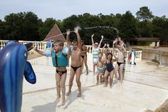 Camping La Palombiere in the Dordogne region is a stunning site with lots to do for the whole family, besides FamilyExtra, enjoy a canoe down the river. Down The River, Free Activities, Aquitaine, Family Holiday, Campsite, Canoe, Dolores Park, Holidays, Fun