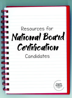 Resources for NBPTS National Board Certification candidates --On this page I've gathered resources, tips, and other information that teachers preparing for certification might find valuable. National Board Teacher Certification, Life Coach Certification, Life Coach Quotes, Life Quotes, Professional Development For Teachers, School Leadership, Teacher Boards, Teacher Inspiration, New Teachers