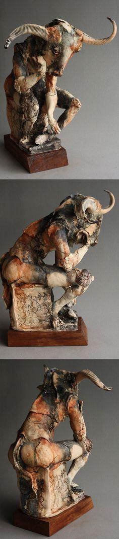 Minotaur - Sculptures Gaynor Ostinelli