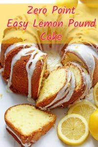 Weight Watchers Freestyle Lemon Pound Cake Recipe – 0 Points
