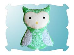 Whooty-Owl Softy - DigiStitches