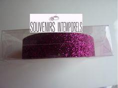 1 rouleau de glitter tape ruban adhésif non repositionnable à paillettes couleur rose fuschia : Stickers, autocollants par souvenirs-intemporels