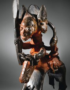 yorubanago cavalier ||| figure ||| sotheby's pf1117lot67b2hfr