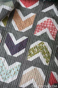 Arrows Quilt Pattern