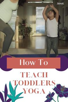 Yoga for toddlers may not be simple or perfect but it sure is fun! Try these awesome kids yoga teaching tips for toddlers and little ones ages 2-3. They will play and move and laugh and fall, but it is so beneficial for them in many ways. Try yoga with your toddler! Toddler Videos, Kids Videos, Teaching Strategies, Teaching Tips, Toddler Yoga, Emotional Regulation, Child And Child, Yoga For Kids, Yoga Videos