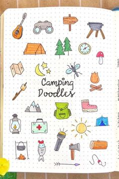 Check out these super cute bujo doodles for ideas!️ Looking to decorate your bujo or need a drawing tutorial? Check out these awesome bullet journal doodle ideas next time you're setting up a new page! Bullet Journal Banner, Bullet Journal Notebook, Bullet Journal Themes, Bullet Journal Inspiration, Mini Drawings, Doodle Drawings, Doodle Art, Easy Drawings, Space Doodles