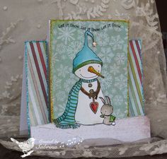 WT505 Snowy Steps by Cook22 - Cards and Paper Crafts at Splitcoaststampers