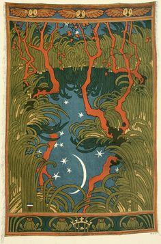 Otto Eckmann (German, 1865-1902). Waldteich (Forest pond).