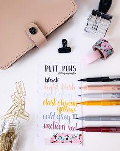 brush pen faber castell pitt artist pen calligraphy colors