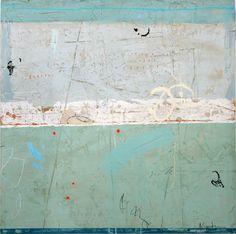ADELE SYPESTEYN  Sense of Movement  mixed media on panel   36 x 36