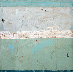 ADELE SYPESTEYN  Sense of Movement  mixed media on panel   36 x 36