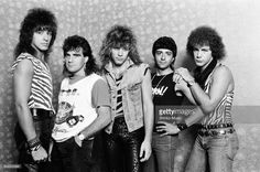 Photographing Bon Jovi in a hotel room, August 1984.