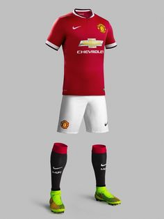 Manchester United 2014-15 Nike Home