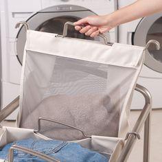 Single Laundry Bag Seville Classics Laundry Hamper Laundry
