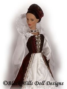 Black Hills Doll Designs Elizabeth Bathory
