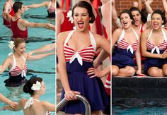 Nautical Swimwear from Glee!